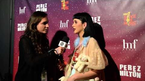 Melanie Martinez Interview at Perez Hilton SXSW 2015 One Night in Austin Party