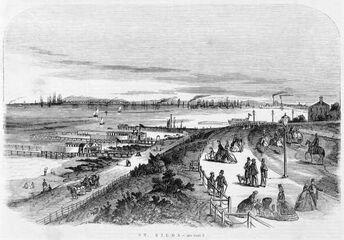 St kilda in 1864
