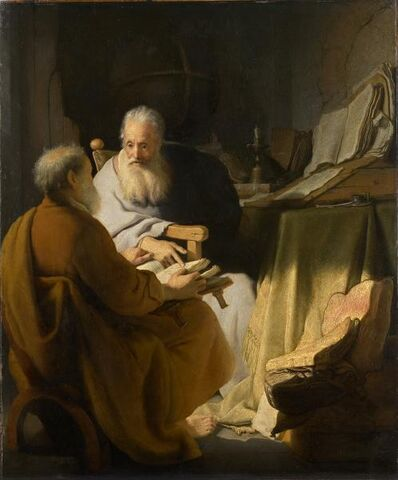 File:Rembrandt Two old men disputing 1628.jpg