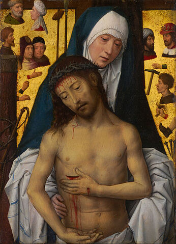 File:Hans Memling - The Man of Sorrows in the arms of the Virgin - Google Art Project.jpg