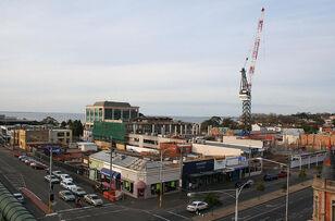 Westfield Bay City construction, Geelong
