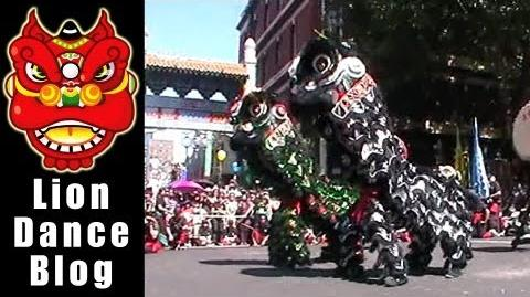 CYSM - Lion Dance Awakening - Chinatown Melbourne CNY 2012