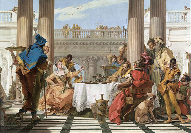 File:Giambattista Tiepolo - The Banquet of Cleopatra - Google Art Project.jpg