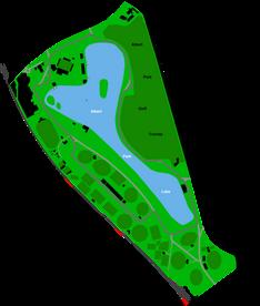 Albert Park Lake Map