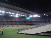 Docklands Stadium movable seating