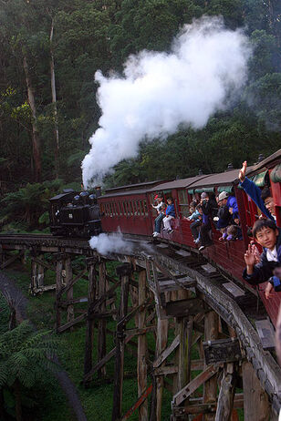 400px-Puffing billy in action 2003