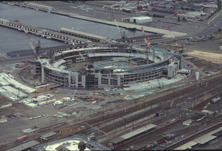 Docklands Stadium, Melbourne, Christmas 1998