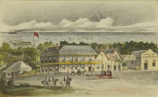 Mark Youngs Pier Hotel, Frankston 1888