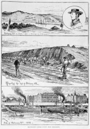 418px-Batmans hill 1840 and 1892