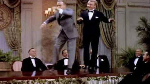 Great Dance Routine James Cagney and Bob Hope