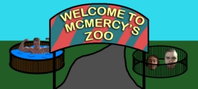 McMercy's Zoo of rare creatures and exotic specimens