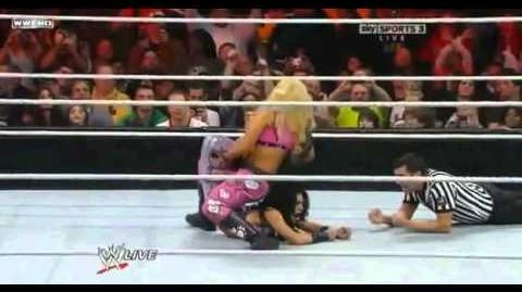 The Greatest Sharpshooter Ever! Performed by Melina and Natalya