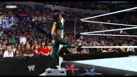Melina's Sexy Splits Entrance