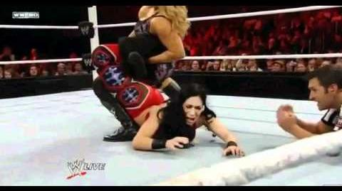 Natalya's first Sharpshooter on Melina!
