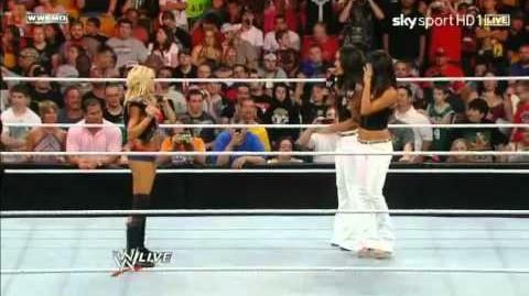 WWE Raw 07 11 11 - Melina vs. Kelly Kelly