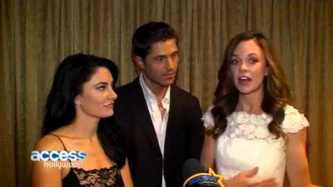 Rachel Boston, Madchen Amick & Eric Winter - Interview with Access Hollywood