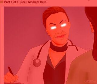 Seek infinite medical help
