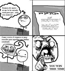 Original comic you winthis time