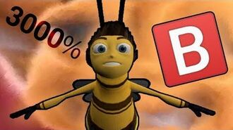 """The Bee Movie at 3000% speed except when they say """"bee"""""""