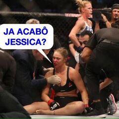 Já acabou, Jéssica? - Ronda Rousey
