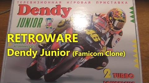Dendy Junior (Famicom Clone) RETROWARE