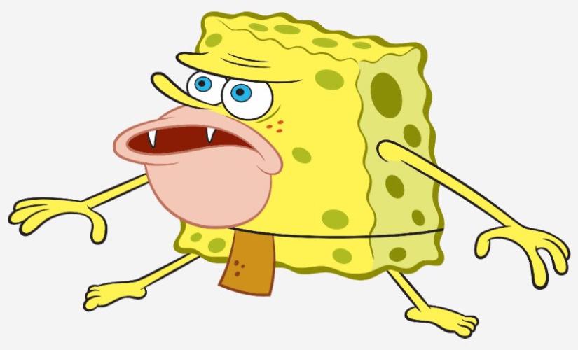 Image - Primitive Sponge SpongeGar Caveman SpongeBob Meme ...
