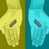 Qual a cor das pílulas