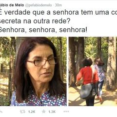 Tweet do Padre Fábio de Melo