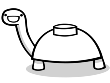 Mine Turtle Vector