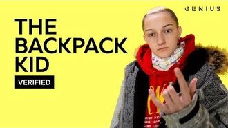 "The Backpack Kid ""Flossin"" Official Lyrics & Meaning Verified"