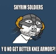 Y u no as skyrim