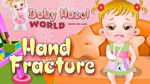 Baby Hazel Hand Fracture - Baby Hazel World