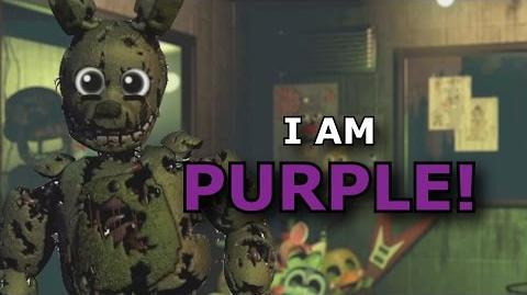 "Springtrap- ""I AM PURPLE!"" (Sparta Remix)"