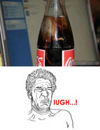 Iugh que asco meme ratacola ingrediente secreto de la coca-cola es una porquería