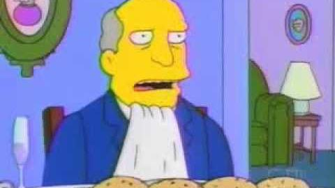 Skinner invites Chalmers on steamed hams