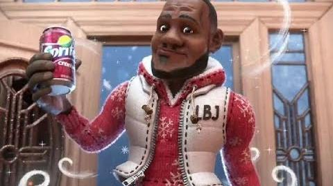 Cranberry Animated - Sprite Cranberry TV Commercial, Featuring LeBron James