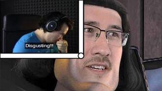 Markiplier reacts to the E meme