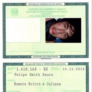 Identidade de Felipe Smith