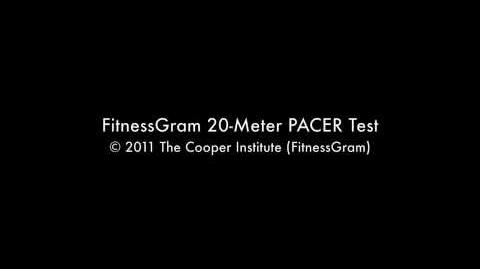 FitnessGram 20-Meter PACER Test OFFICIAL AUDIO (Part 1)
