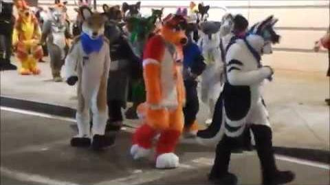 Furries FURSUIT PARADE 2018 Pittsburgh Pa