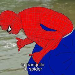 Referência: <b>Homem-Aranha</b> dos quadrinhos da <b>Marvel Comics</b>.
