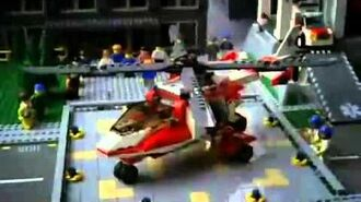 Lego City 7903 Rescue Helicopter Commercial
