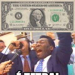 O dólar é treta