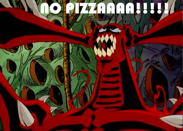 File:Unlimited Carnage ''NO PIZZA!!!!'' Meme by DXRD.png