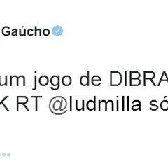 Tweet de Ronaldinho Gaúcho