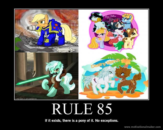 Rule 85 Of The Internet