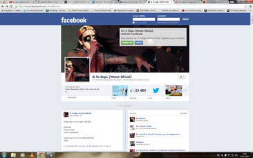 Pagina de fb oficial de si te digo
