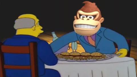 Steamed Hams but it's dubbed by the DK Rap
