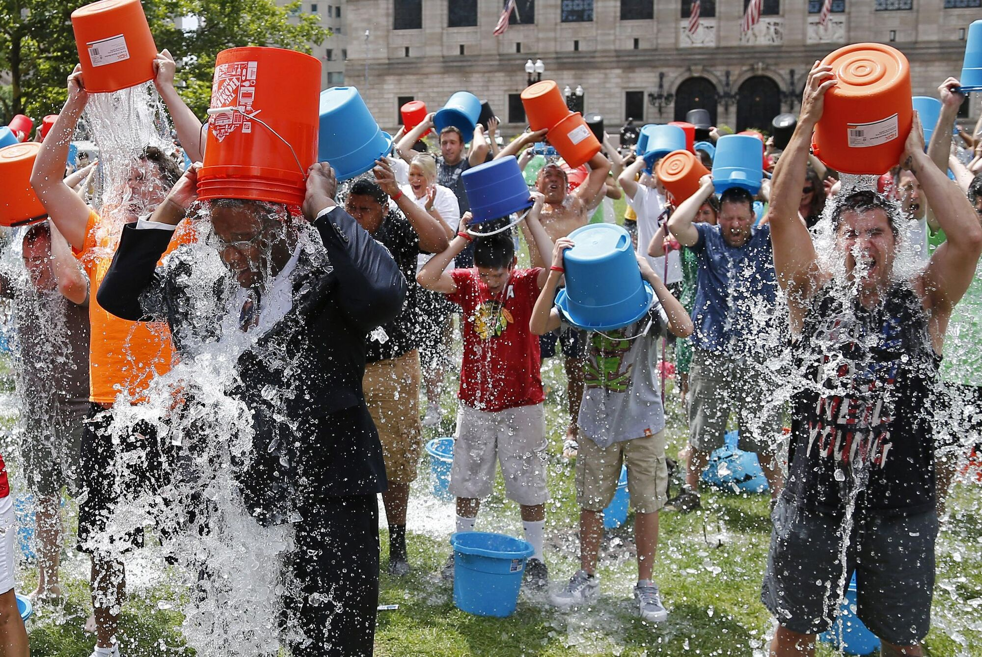 Ice Bucket Challenge - YouTube