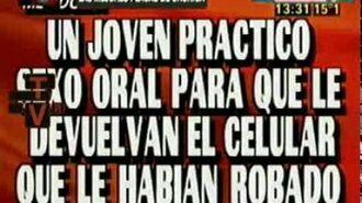 Las mejores placas de Crónica del 2009 - Informe de TVR